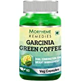 Morpheme Remedies Garcinia Green Coffee Bean Extract for Weight Management - 60 Veg Capsules