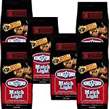 Charcoal Grill Briquet Kingsford Match Light Instant Charcoal Briquettes 11.6 lb (6pk)