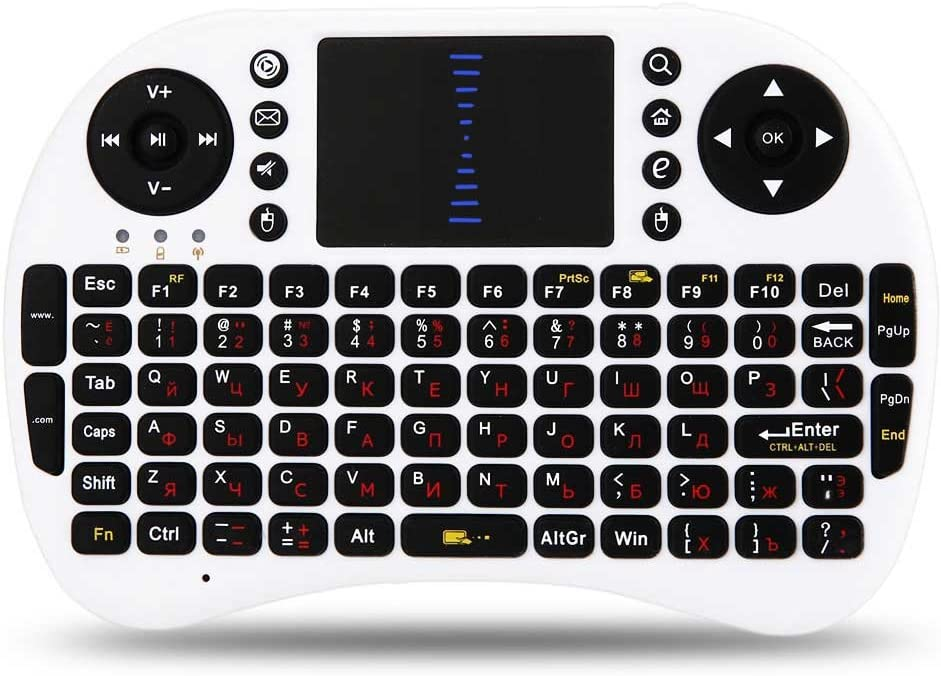 M2S 2.4GHz Wireless QWERTY Keyboard Touchpad with Receiver