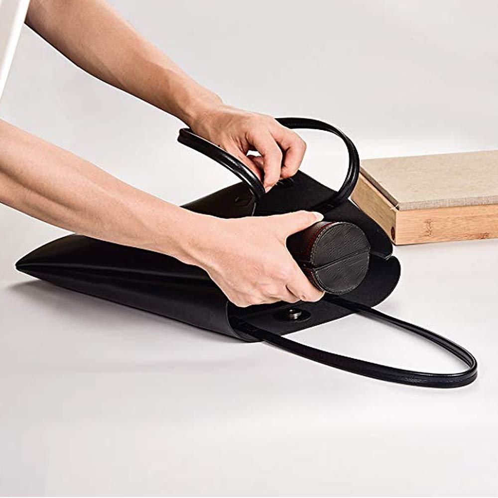 Shoe Shine Kit Shoe Shine Sponge Shoehorn KOKOBI Shoe Polish Cleaning Kit-Includes Black//White Shoe Cream Suede Brush Leather Conditioner Shoe Polish Cloth and PU Leather Case
