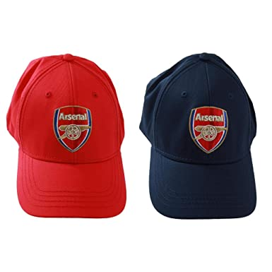 2e62fd50992 Mens Boys Official Arsenal Football Club Baseball Cap Hat Gunners  Adjustable Cap Red