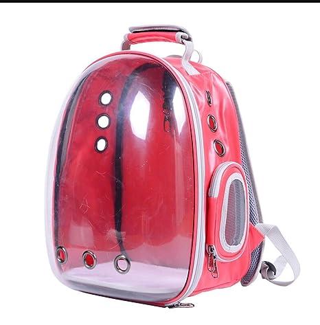 Weaston Bolsa para mascotas con cápsula espacial Bolsa de viaje saliente Bolsa para mascotas Mochila para