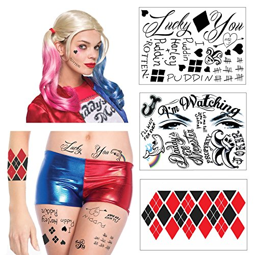 HQ Full Body Temporary Tattoo Bundle - 3 Sheets w/ 24 Tats -