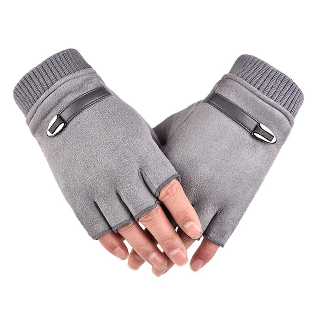 Ohyoulive Driving Gloves for Men Women Half Finger ...