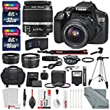 Canon EOS Rebel T6 DSLR Camera with EF-S 18-55mm f 3.5-5.6 IS II Lens - Along with 32 & 16GB SDHC - and Deluxe Accessory Bundle with Xpix cleaning Accessories
