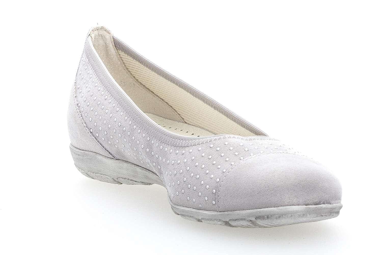 Gabor Casual 84.163.49 Ballerina in Übergrößen Grau 84.163.49 Casual große Damenschuhe 343f2a