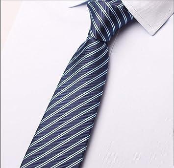 pyty123 Corbata Masculina Formal De Sarga Azul Profesional ...