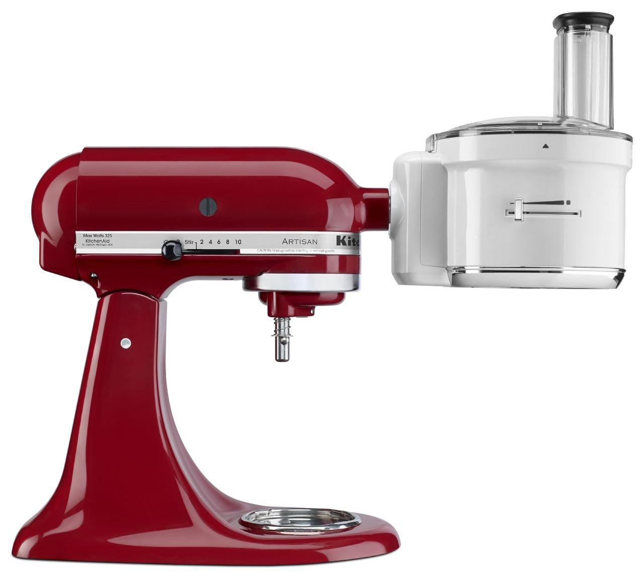 KitchenAid Food Processor Stand Mixer Attachment in White