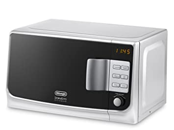 DeLonghi MW20G - Microondas con grill, 1155 W, 20 L, blanco