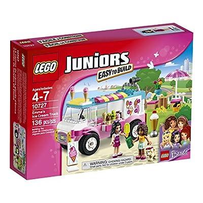 LEGO Juniors 10727 Emma's Ice Cream Truck Building Kit (136 Piece)