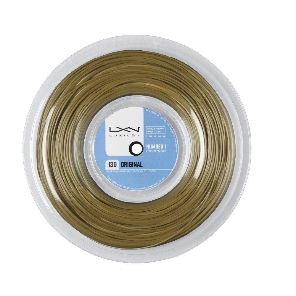BIG Banger Saitenrolle Original, Amber, 200 m, 0275000121200016 WIMKL|#WILSON WRZ9909 AMB