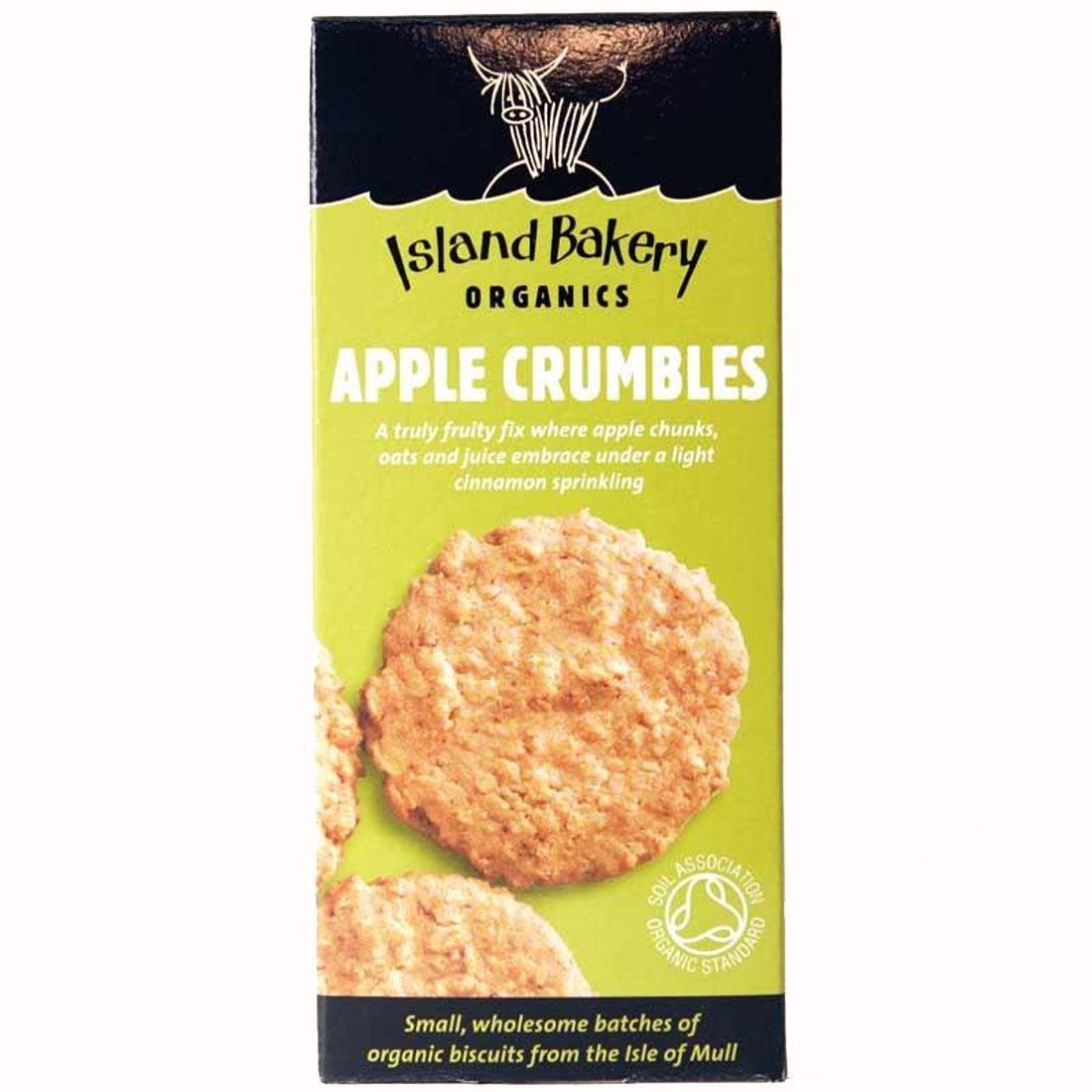 Island Bakery Organics | Apple Crumbles Organic Biscuit | 5 x 150g