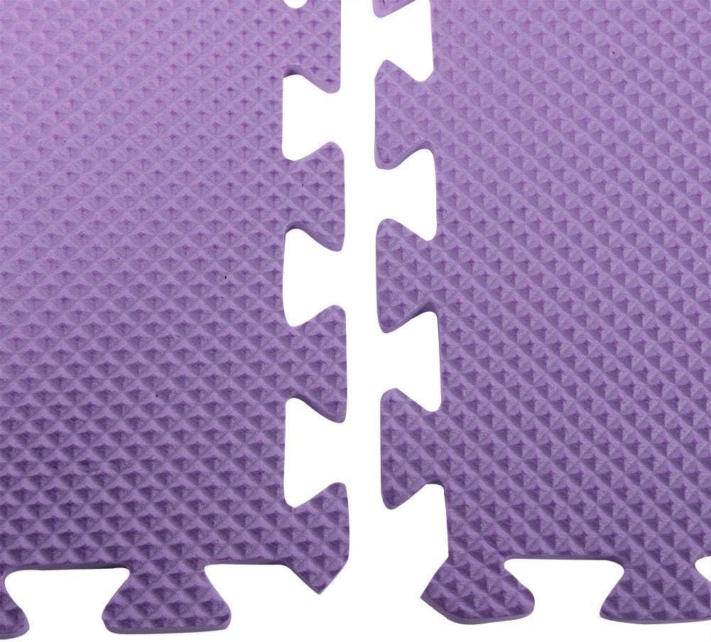Alfombra de Gimnasio Impermeable y f/ácil de Limpiar Alfombra de Espuma de Suelo Alfombra de protecci/ón de Suelo Alfombra de Goma EVA Gruesa para el Estimulante del beb/é 6 Unidades