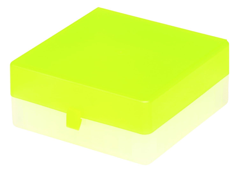 Red Polypropylene Camlab Plastics RTP//72101-R Storage Box 100 Place