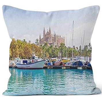 Amazon.com: Nine City Cathedral of Majorca La seu from Palma ...