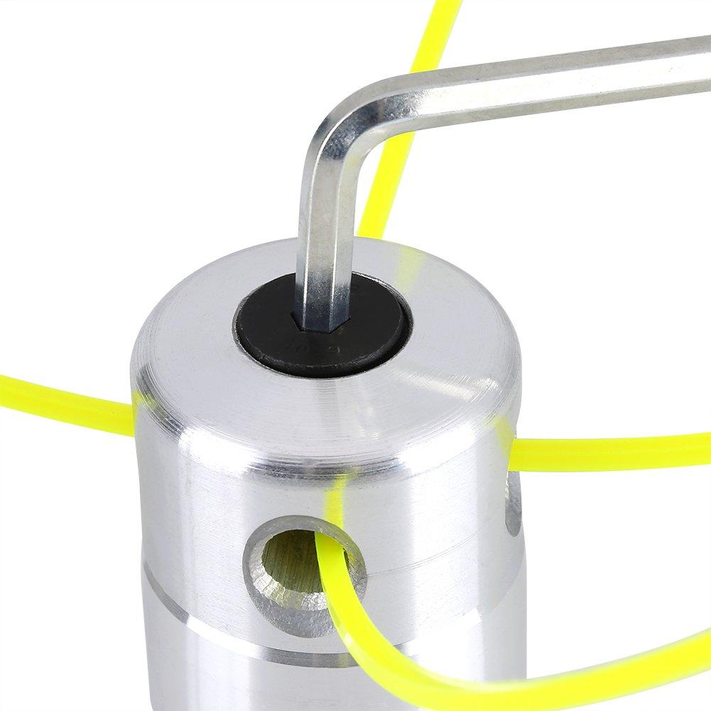 Cortador de Cabeza de Aluminio Universal Cabezales de Hierba ...