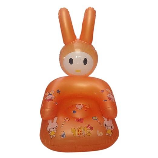 YUENA CARE - Silla Infantil Hinchable con Forma de Conejo, Color ...