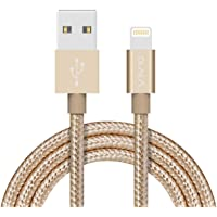 OLALA 3.3 Feet/1 Meter Nylon Braided Lightning to USB Cable