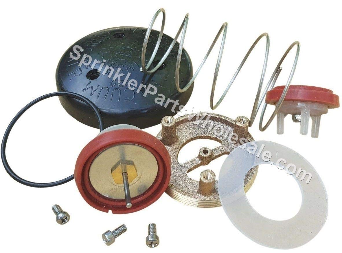 Wilkins 720A Complete Total Repair Kit RK1-720A RK1-720AB Bonnet Canopy Spring Poppet Spider O-Ring Plus a Free SprinkerPartsWholesale Flashlight Keychain