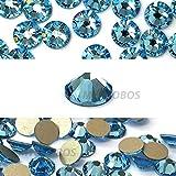flatback swarovski crystals blue - AQUAMARINE (202) lake blue Swarovski NEW 2088 XIRIUS Rose 20ss 5mm flatback No-Hotfix rhinestones ss20 144 pcs (1 gross) *FREE Shipping from Mychobos (Crystal-Wholesale)*