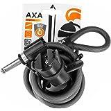 Basta V640019A Seil für Fahrradschloss, Schwarz, 1,5m
