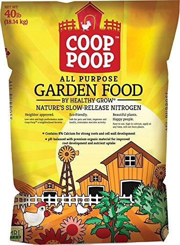 PEARL VALLEY ORGANIX 080951 Coop Poop All Purpose Garden Food, 40 lb