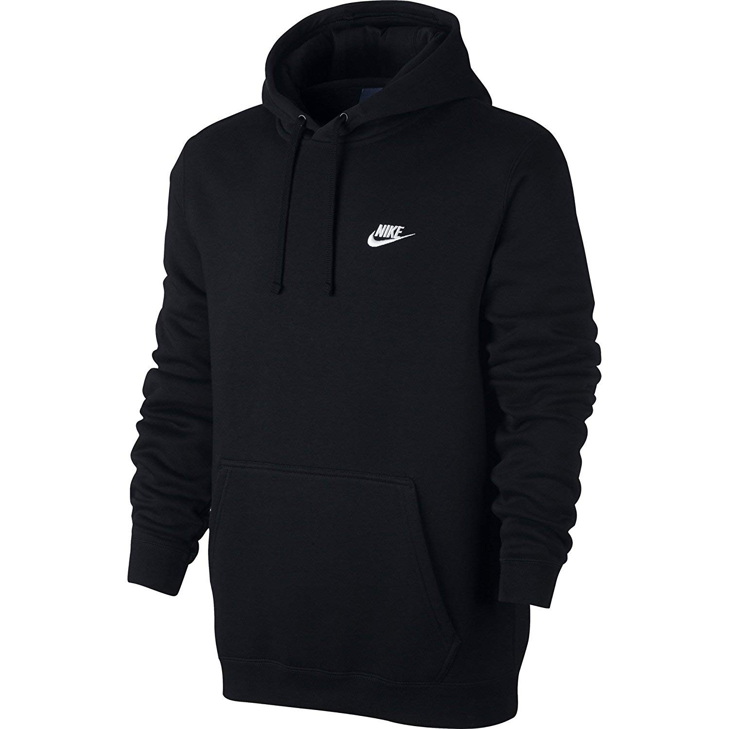624cb663aa55e The NIKE Sportswear Men\'s Pullover Club Hoodie bundles you up in plush  comfort without the bulk. Crafted with soft fleece fabric, it features an  updated, ...