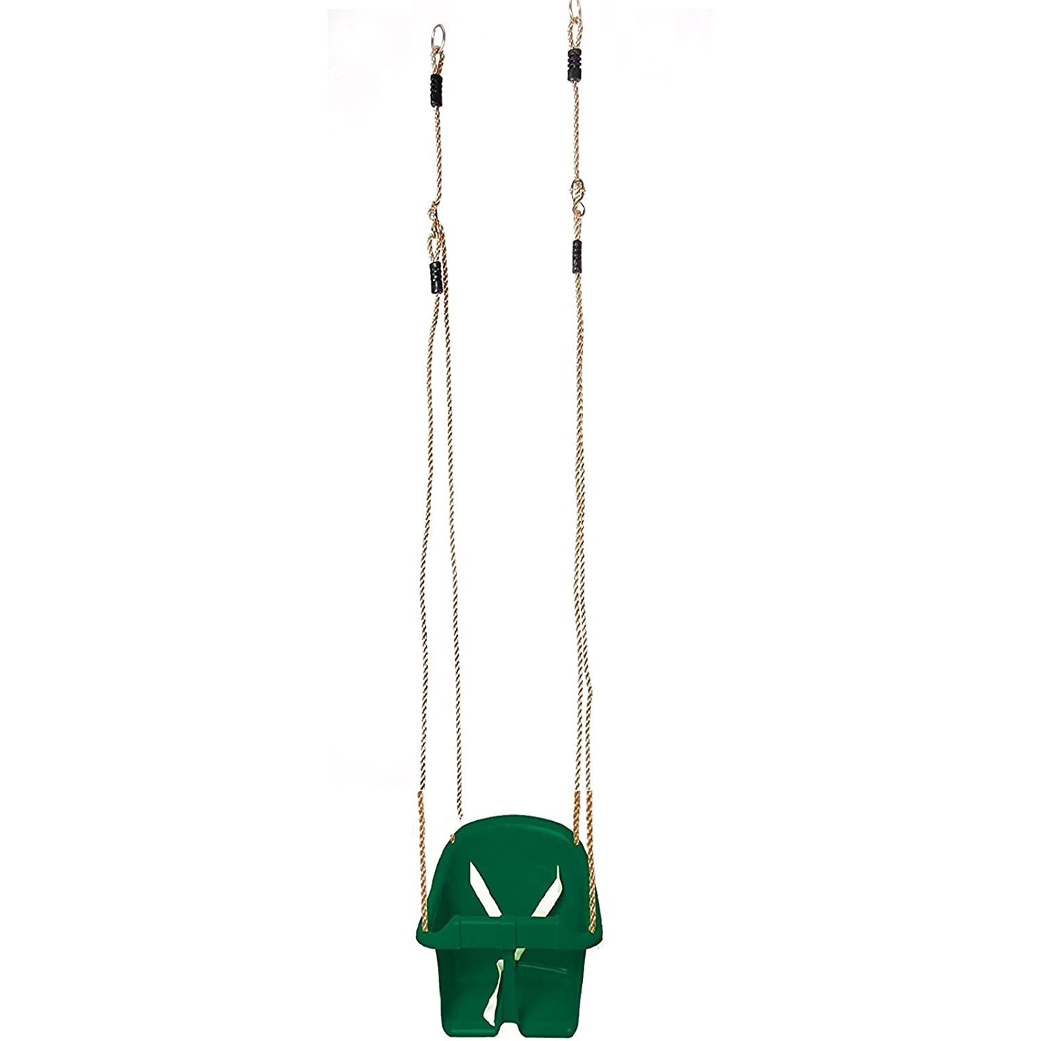Red Sohler By Eurotrade W 2002437 Childs Plastic Rope Swing Kids Toddler Adjustable Outdoor Garden Hanging Bucket Safety Seat
