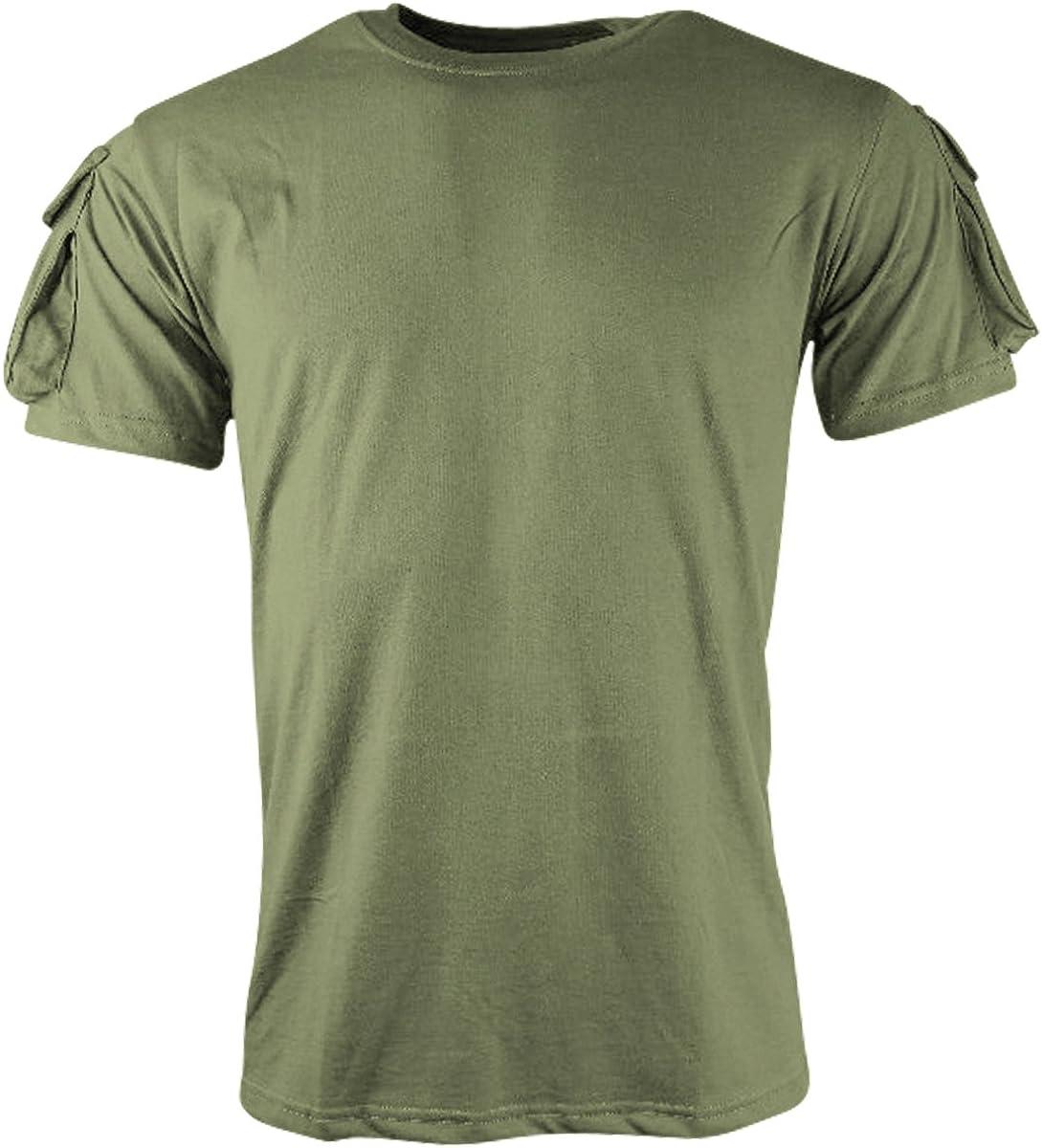 Kombat UK Tactical Short Sleeve Camiseta, Hombre: Amazon.es: Ropa y accesorios