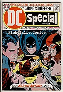 DC SPECIAL #1, VG, All Carmine Infantino issue, 1968, Batman, Flash