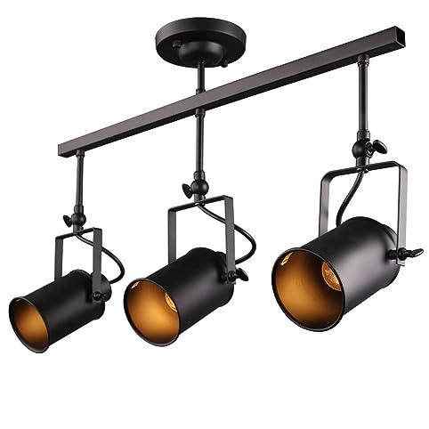 Laluz adjustable track lighting ceiling light 3 light spotlight laluz adjustable track lighting ceiling light 3 light spotlight track lights aloadofball Images