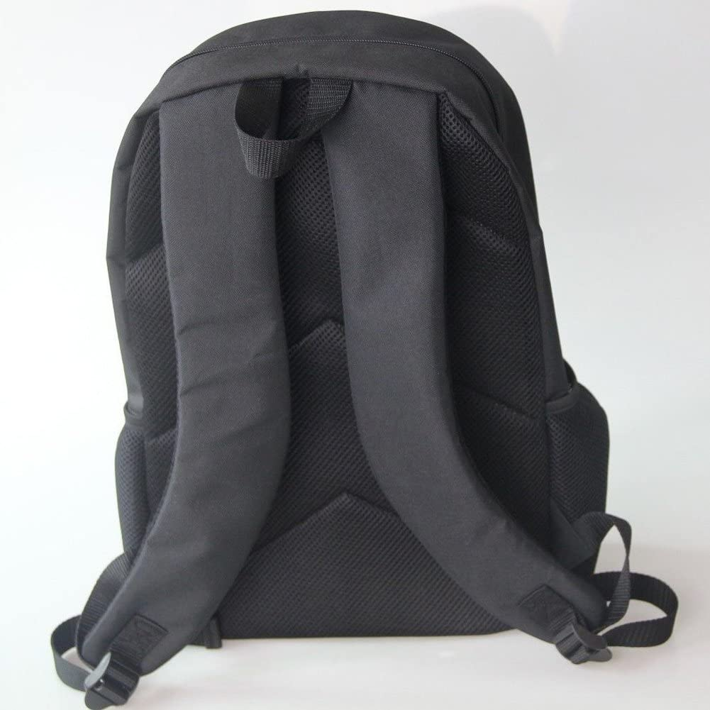 HUGS IDEA Peacock Printed Girls Schoolbag Shoulder School Backpack