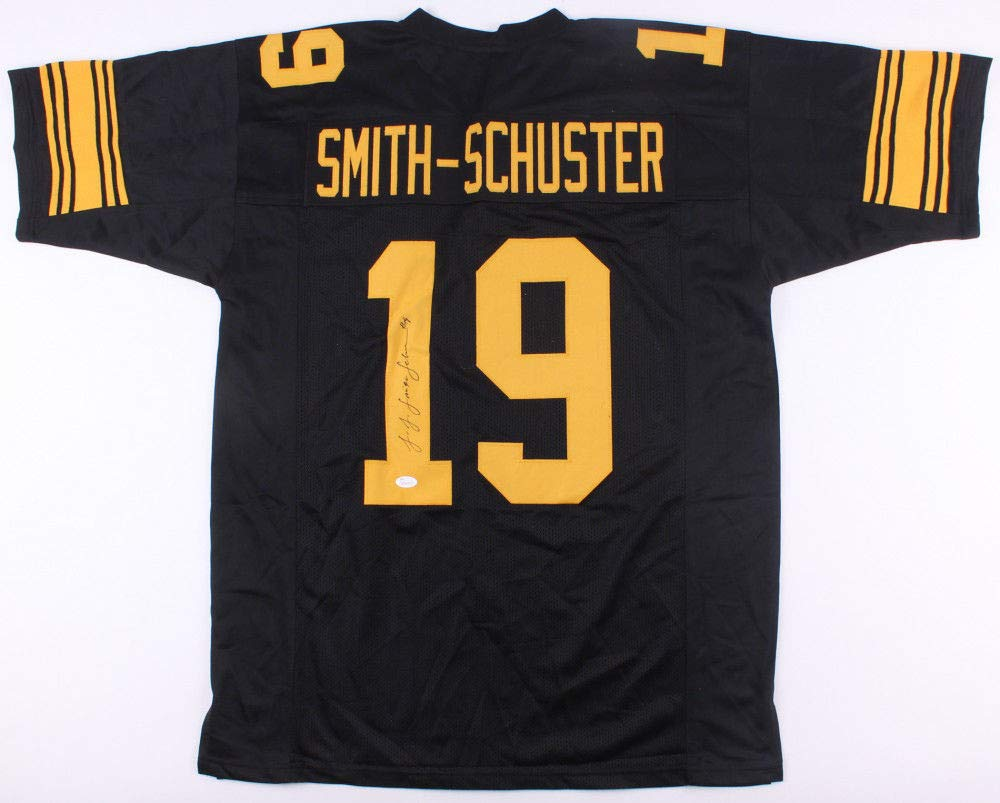 fcc29d46a0e Juju Smith -Schuster Autographed Signed Pittsburgh Steelers Color Rush Jersey  Memorabilia - JSA Authentic at Amazon's Sports Collectibles Store