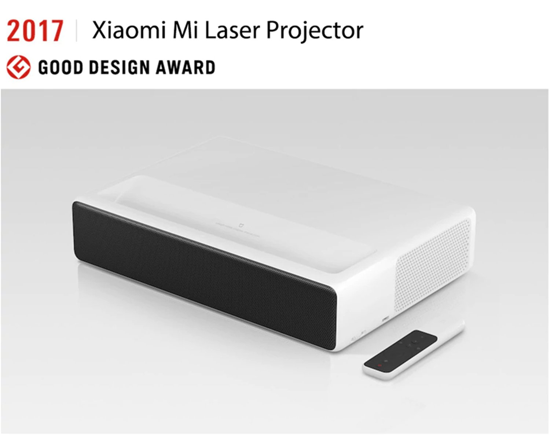 Xiaomi Mi Ultra Short Throw DLP Proyector de Home Cinema Láser ...