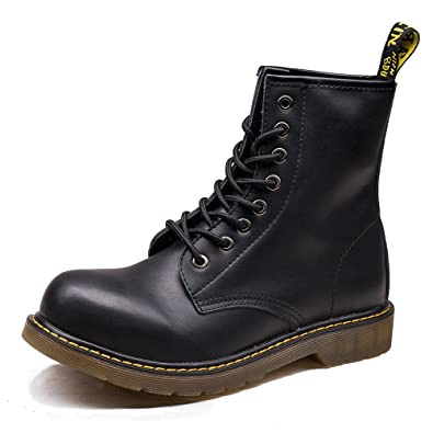 Amazon.com   OUOUVALLEY Men's Lace-Up Genuine Leather Waterproof ...