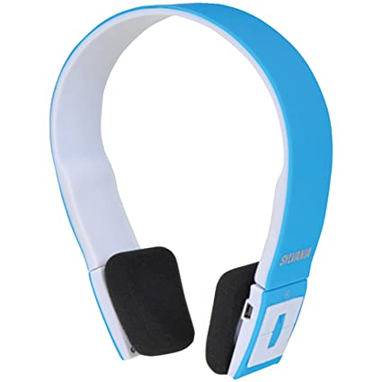 c8f88efa0bc Image Unavailable. Image not available for. Color: Sylvania Wireless  Bluetooth Stereo Over Ear Headphones ...