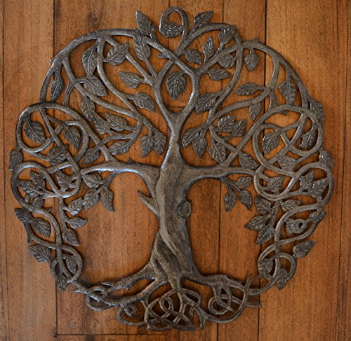 Exceptional Amazon.com: Itu0027s Cactus   Metal Art Haiti Celtic Inspired Tree Of Life,  Metal Wall Art, Home Decor Fair Trade From Haiti, Infinity Knots 23 Inches  Round: ...