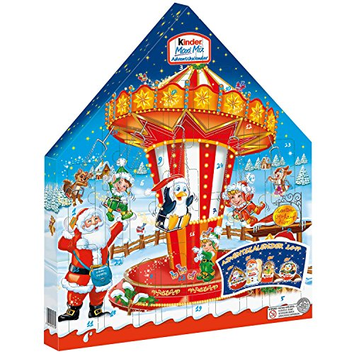 Ferrero Kinder Maxi Mix Advent Calendar 2017 351g (Styles May Vary)
