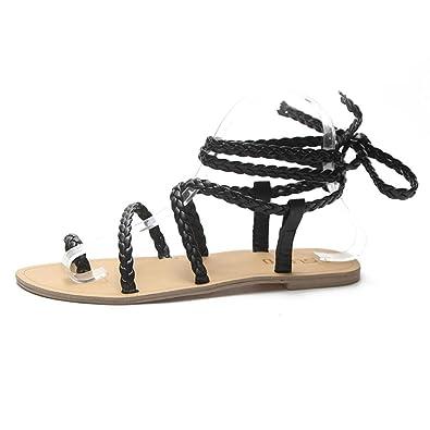 Amazon.com: ❤ Flats sandalias mujeres Lady Girl ❤ baomabao ...
