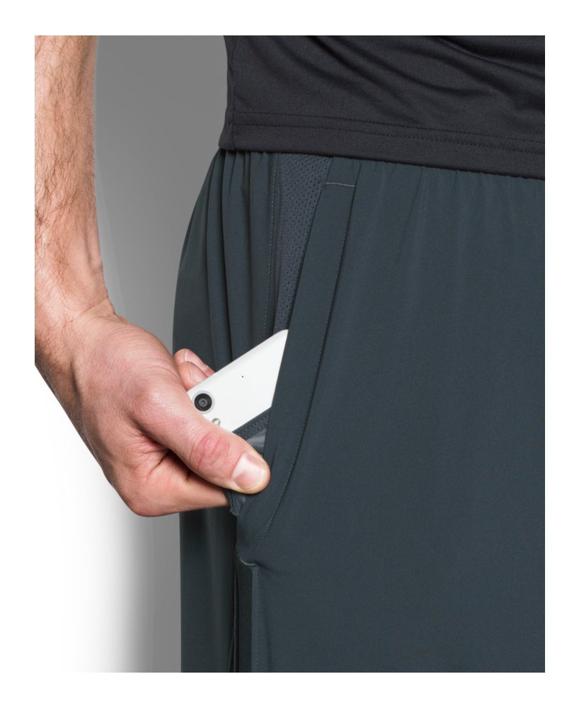 Under Armour Men's Launch 9'' Shorts, Stealth Gray/Reflective, X-Small by Under Armour (Image #4)
