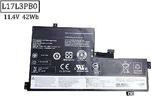BOWEIRUI L17L3PB0 (11.4V 42Wh 3685mAh) Laptop Battery Replacement for Lenovo 100e 100e-81ER 300e 500e 500e-81ES Chromebook Series Notebook L17C3PG0 L18D3PG1 L17M3PB0