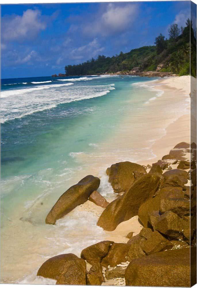 Amazon Com Tropical Beach La Digue Island Seychelles
