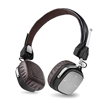 AudioMX HB-Q3 Wireless Bluetooth 4.1 On-Ear Headphones with Mic, Low Latency, HD Quality Stereo Sound: Amazon.es: Electrónica