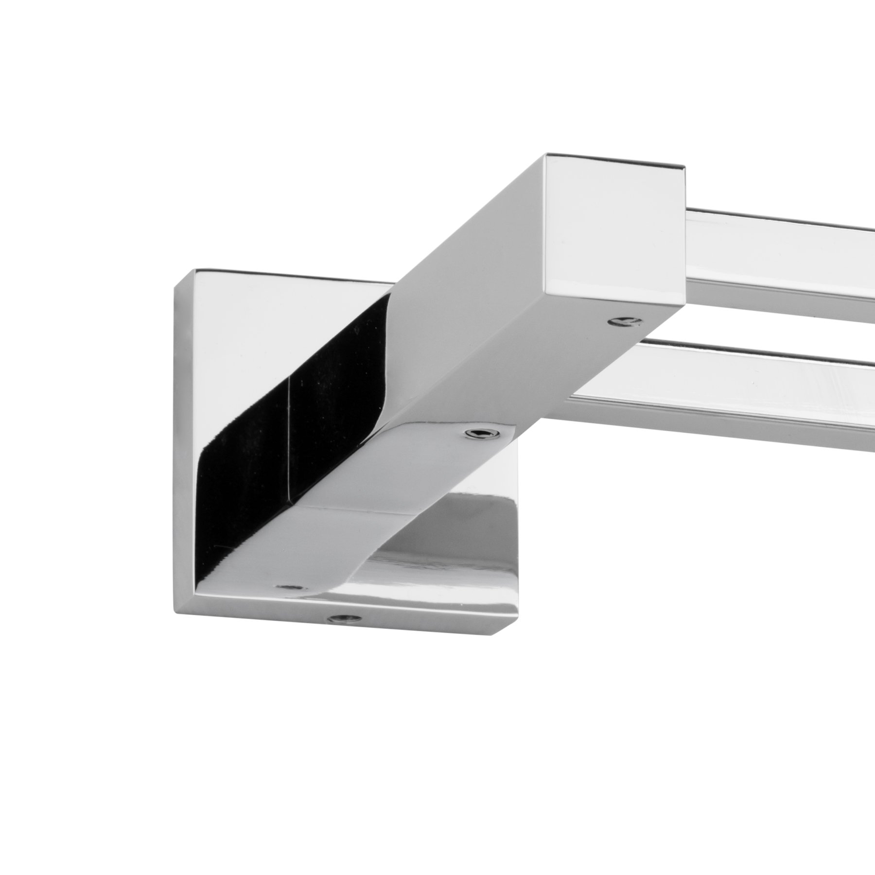 MAYKKE Zane 25'' Stainless Steel Double Towel Bar | Modern Wall Mounted Towel Holder for Bathroom, Kitchen, Shower | Polished Chrome, XYA1000901 by Maykke (Image #1)