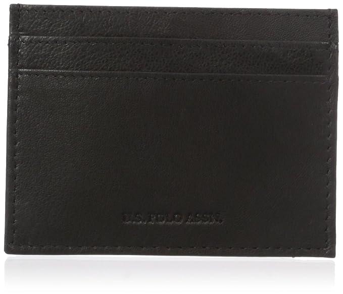 483b703362 U.S. Polo Assn. Men s Genuine Goat Leather Wallet