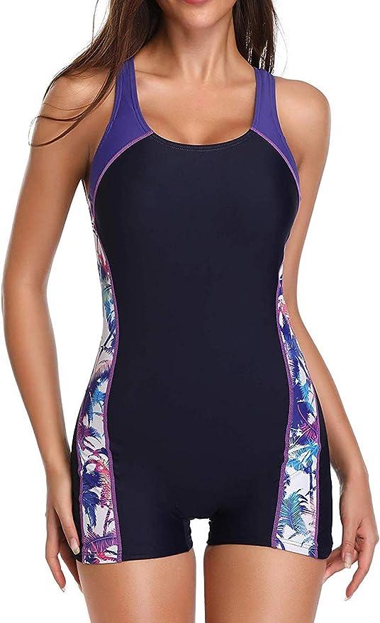 Yilisha Women's Athletic One-Piece Swimsuits