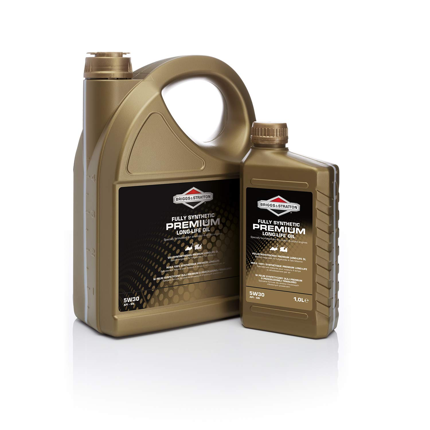 Briggs & Stratton 100009S 4-Stroke 5W30 Long-Life Synthetic Engine ...