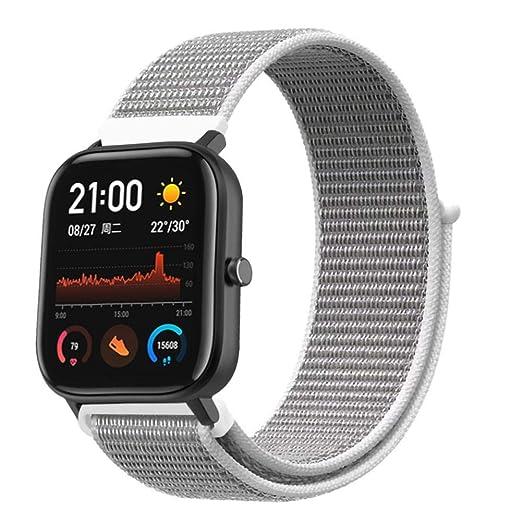Raninao 20 mm Pulsera para Smartwatch, Unisex, Correa de ...
