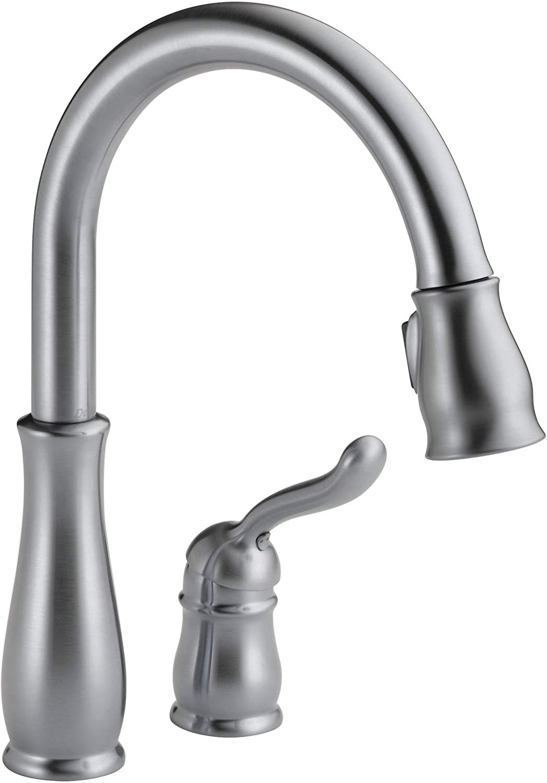 Delta Faucet Leland Single-Handle Kitchen Sink Faucet