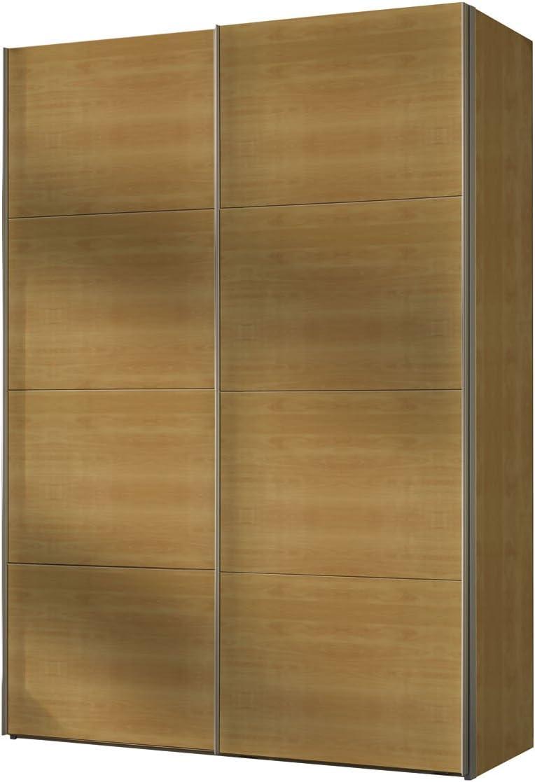 Express Muebles 49100 – – 020 Armario de Puertas correderas 150 x 216 x 68 cm/Haya imitación: Amazon.es: Hogar